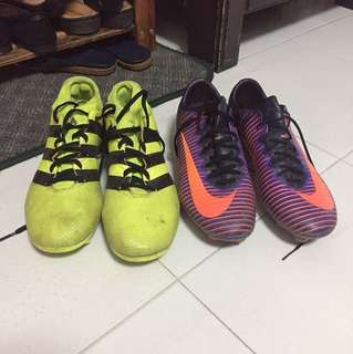 Adidas and mercurial