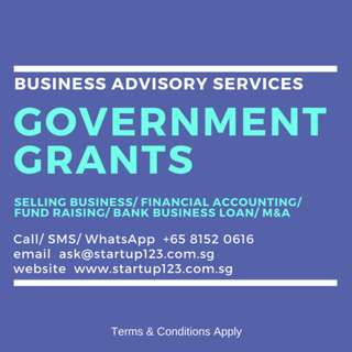 Government Grants/ Business Advisory