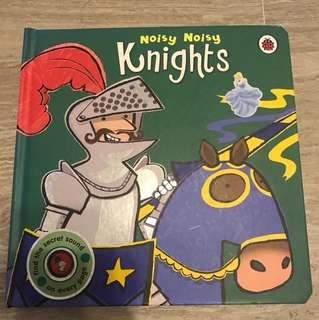 Knights. Hardcover book with sound