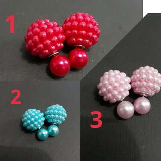 Candy Pearl Earring (new)-READY STOCK