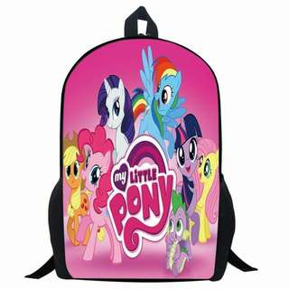 LITTLE PONY PRINTED BAGPACK