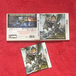3ds Monster Hunter 3 Game Casing