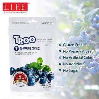 Korean Natural Freeze-dried Fruit (Natural Blueberry) 韓國天然冷凍乾果 (藍莓)