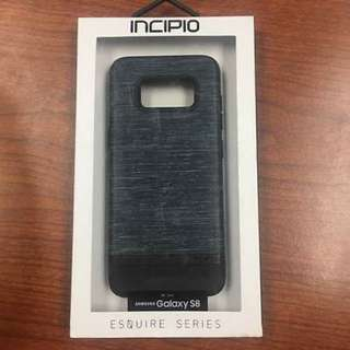 Samsung Galaxy S8 Incipio Case. Gray And Black