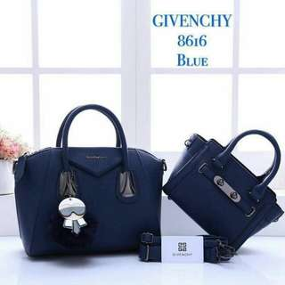 Givenchy Antigona 2 in 1 Blue Color