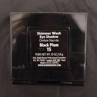 FREE SHIPPING: Bobbi Brown Shimmer Wash Eye Shadow in Black Plum