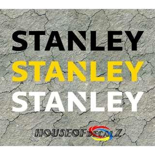 """Custom """"Stanley"""" Diecut Vinyl Decal No Background"""
