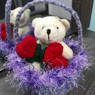 Bear w hearts 💕