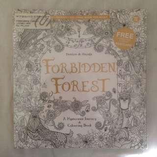 FORBIDDEN FOREST Coloring Book - Famiya & Hayata