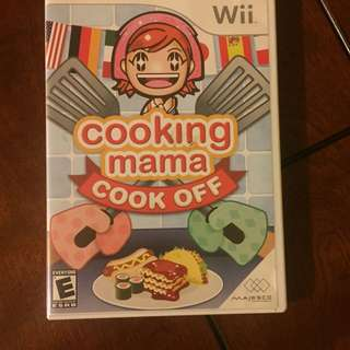 Cooking Mama Cook Off Wii Game
