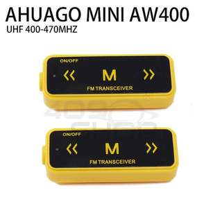 AHUAGO Mini Radio YELLOW 16 Channel Walkie Talkie
