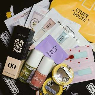 [INSTOCKS]: ETUDE HOUSE SAMPLE BUNDLE.