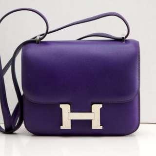 100% Authentic Hermes Constance 18