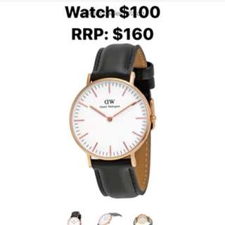 Daniel Wellington classic sheffield watch rose gold