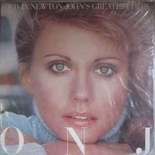 Olivia Newton John ONJ LP Record Vinyl Greatest Hits Album
