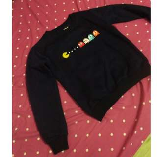 rubylicious pacman sweater navy