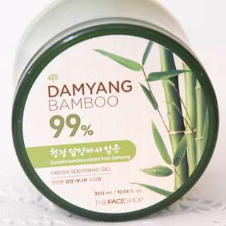 [The Face Shop] Damyang Bamboo Fresh Soothing Gel
