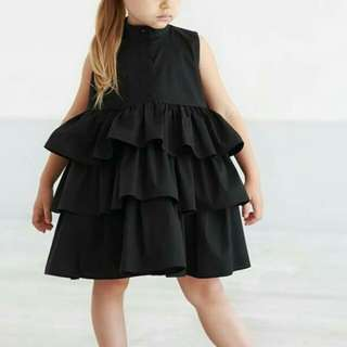 (PO) Sleeveless Round Neck Tutu Dress