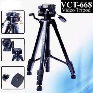 Yunteng VCT 668 VCT-668 Professional Flexible Tripod