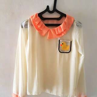 Cute korean blouse