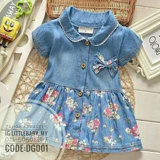 Denim dress cute