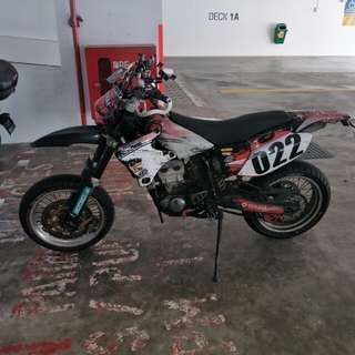 Yamaha Wr400 Supermoto ( sell / trade )