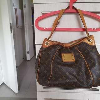 LV Authentic Monogram Galleria PM Tote Bag