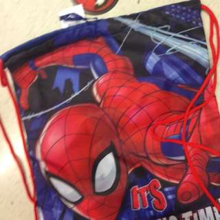 Spider-Man pull bag