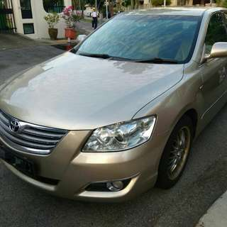 Toyota Camry 2.4 weekend rent