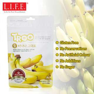 Korean Natural Freeze-dried Fruit (Banana) 韓國天然冷凍乾果 (香蕉)
