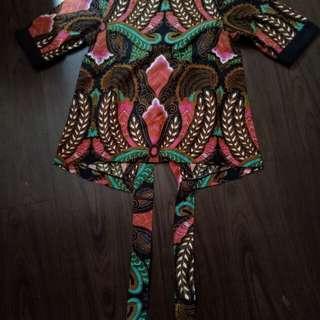 Atasan batik Tirtha alam