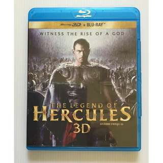 The Legend of Hercules 3D Blu Ray + Blu Ray