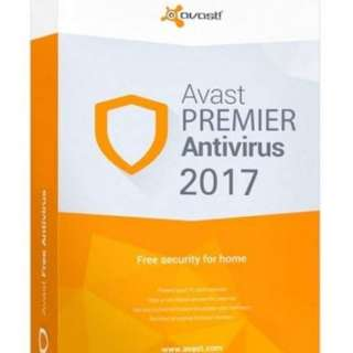 New Avast Premier 2018 software key