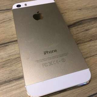 (底價$700不議) Iphone 5s 16Gb gold