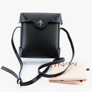 Manu Atelier Leather Pristine in Black
