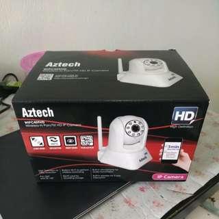 Aztech wireless CCTV (pan and tilts)