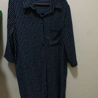Polo Dress with minor defect (missing one button)
