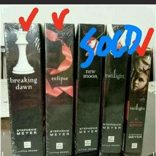 Twilight Saga Books