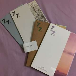 [WTT] 7 for 7 Lyric Book