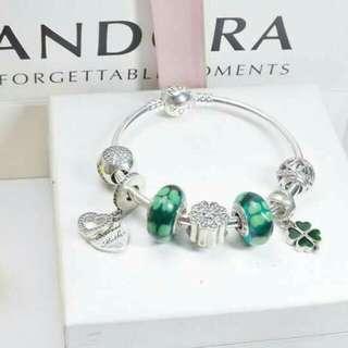Pandora Set Charms and Bracelet