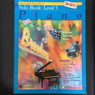 Alfred's Basic Piano Library Level 5