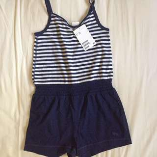 H&M cute navy striped jumper *Brand New*