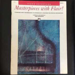 Piano Repertoire Masterpieces with Flair!