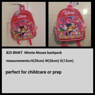 Brand New Minnie Mouse Bag
