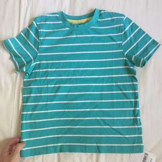 MOTHERCARE Simple Basic Striped Tee for boys *Brand New*