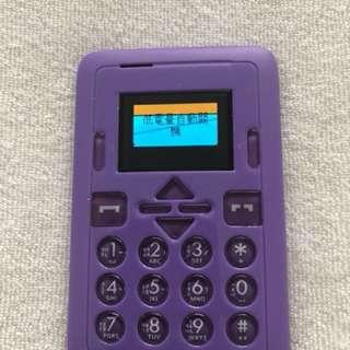 卡片型GSM 手機