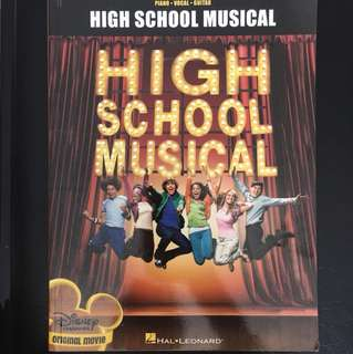 High School Musical (Piano • Guitar • Vocal)