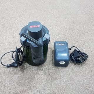 Eheim Aqua Compact 40 + Dymax Air Pump