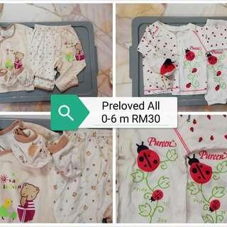 Preloved Newborn Boy Clothes