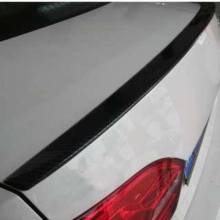 VW mk6 Jetta Carbon Spoiler